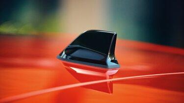 Renault Clio Haifischantenne