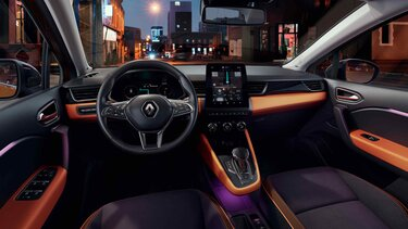 Der komfortable Innenraum des Renault Captur