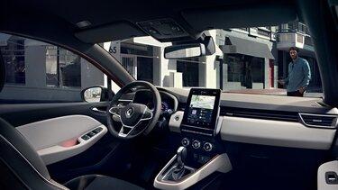 Der Innenraum des Renault Clio mit MULTI SENSE
