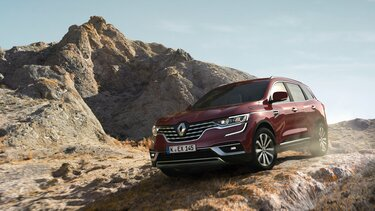 Der Renault Koleos im Gelände