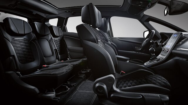 Komfortsitze im Renault Scénic