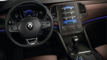 Das Cockpit mit MULTI-SENSE System im Renault Talisman Grandtour