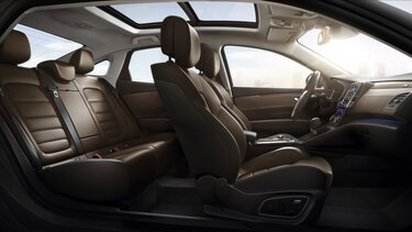 Komfortsitze im Renault Talisman