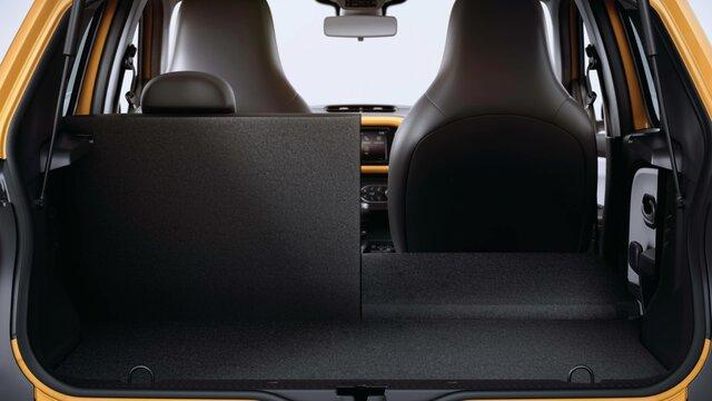 Der Laderaum des Renault Twingo