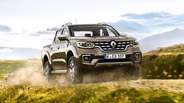 Renault Alaskan im Gelände