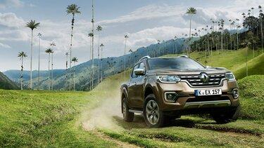 Der Renault Alaskan im Gelände