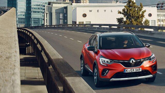 Renault Captur auf dem Boulevard Périphérique