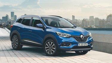 Nahaufnahme vom Renault Kadjar in der Stadt