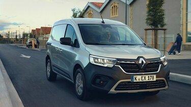 Der neue Renault Kangoo Rapid auf der Straße