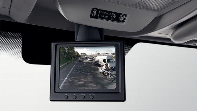 Rückfahrkamera im Renault Master