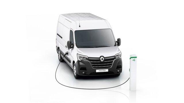 Renault Master Z.E. an der Ladesäule