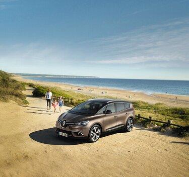 Renault Grand SCENIC am Strand
