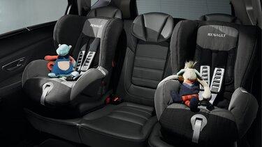 Renault Grand SCENIC Kindersitz Duoplus ISOFIX