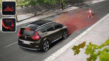 Renault Grand SCENIC Notbremsassistent