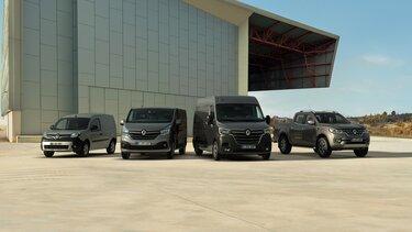 Das Renault Angebot an Nutzfahrzeugen