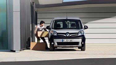 Beladung des Renault Kangoo