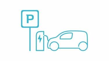 Renault Kangoo E-Tech Ladestruktur