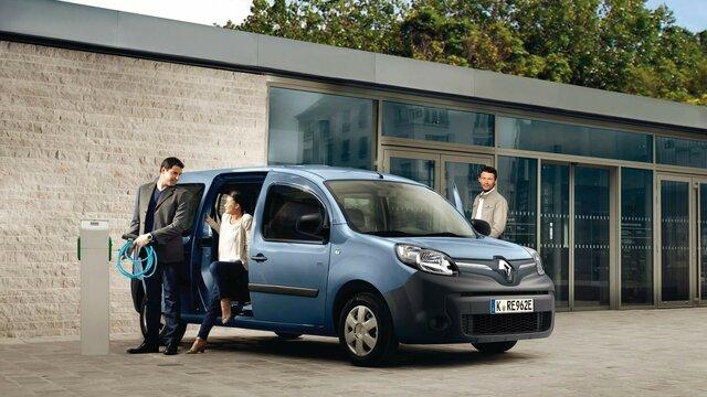 Renault KANGOO Z.E. Aufladen