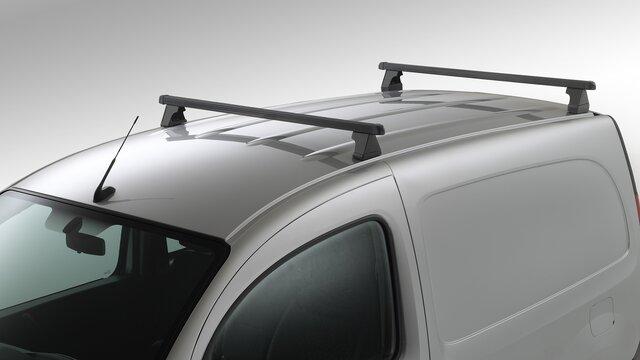 Kangoo mit Dachträgern aus Aluminium
