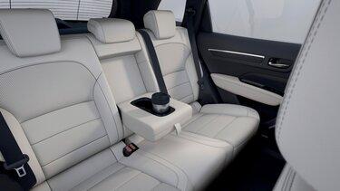 Renault KOLEOS Innenraum, Vorder- und Rücksitze im Innenraum