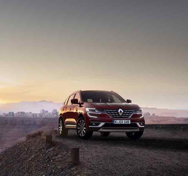 Der neue Renault KOLEOS Familien-SUV mit Allradantrieb