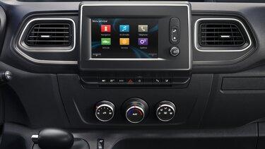 Online-Multimediasystem R-LINK Evolution im Renault Master Z.E.