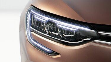 LED-Scheinwerfer des Renault Mégane Grandtour ZEN Plug-in Hybrid