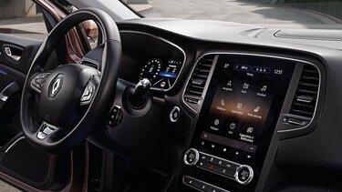 Das Cockpit im Renault Mégane Grandtour Business Edition
