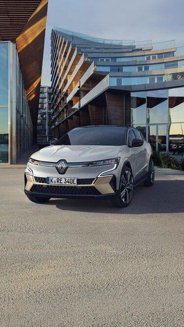 Der neue Renault Megane E-Tech 100% elektrisch - Frontpartie