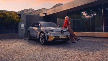 Der neue Renault Megane E-Tech 100% elektrisch - Aufladen