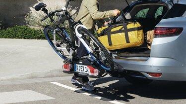 Anhängerkupplung und Anhängerkupplung mit Fahrradträger - Mégane