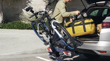 Der Mégane Grandtour Anhängerkupplung und Anhängerkupplung mit Fahrradträger