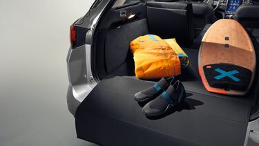 Der Mégane Grandtour Kofferraumschutz