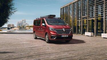 Der neue Renault TRAFIC Combi - Zubehör