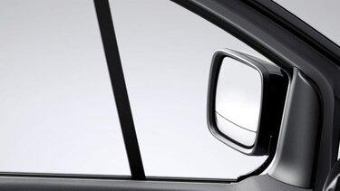 Weitwinkelspiegel des Renault Trafic Combi