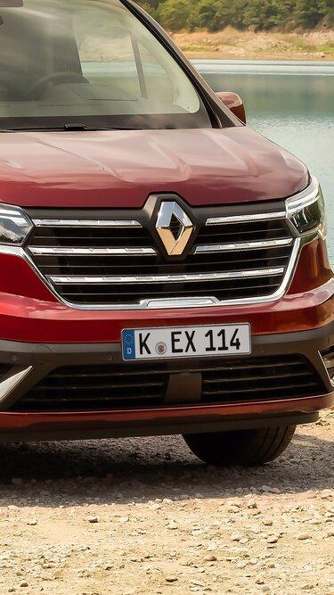 Der neue Renault Trafic SpaceNomad– Kühlergrill