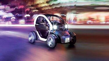 Renault TWIZY auf der Straße