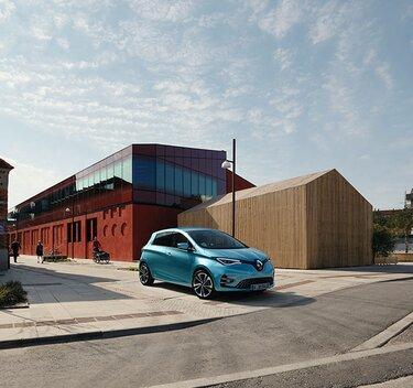 Renault ZOE Außendesign elektrisch