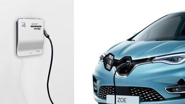 Renault ZOE - Wallbox Schneider Electric