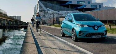 Renault ZOE auf der Straße