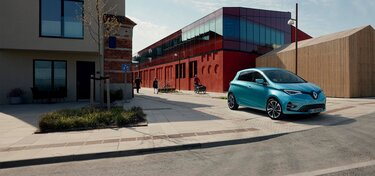 Renault ZOE elektrisches Stadtfahrzeug
