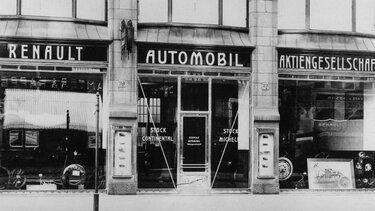 Erste deutsche Renault Automobil Aktiengesellschaft Vertretung 1907