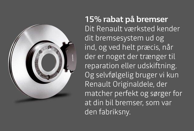 Renault bremser