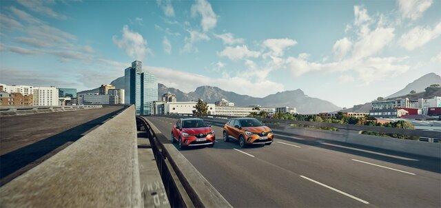 Modellprogrammet för Renault CAPTUR