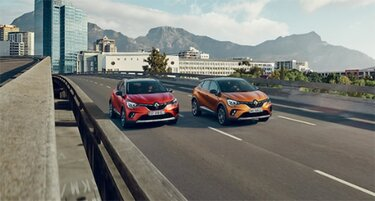Renault CAPTUR-modelprogram