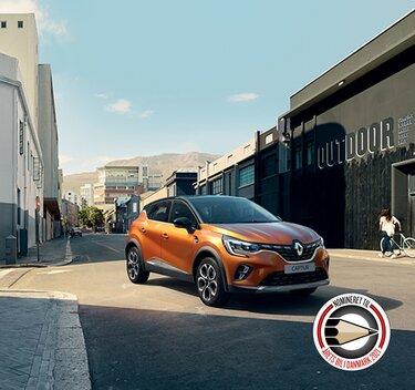 Renault CAPTUR, kompakt urban SUV