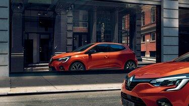 Renault CLIO, lille sort bil
