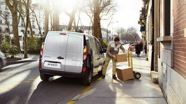 Renault Kangoo express utvendigt design