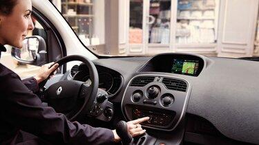Renault Kangoo express invendigt design