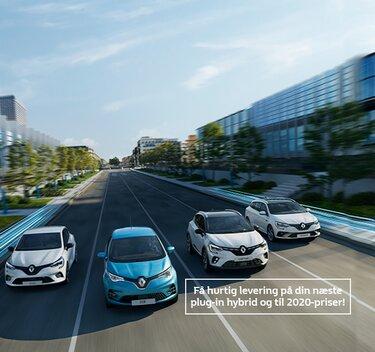 Renault el og hybrid biler